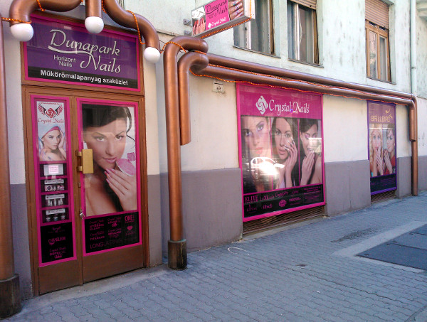 Dunapark Nails üzlet