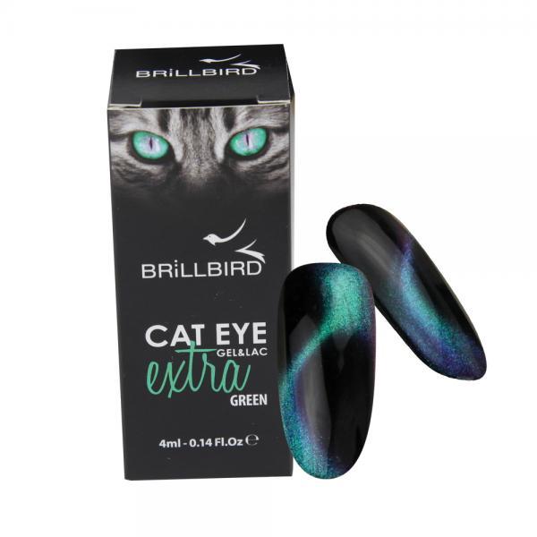 Cat Eye Extra Gél Lakk - Green