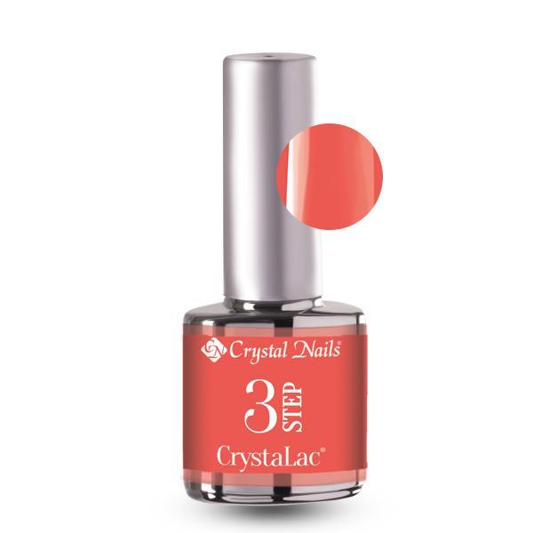 3 STEP CrystaLac - 3S121 (4ml)  Neon grapefruit