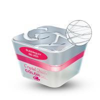 Bubblegum color gel - Silver 3ml