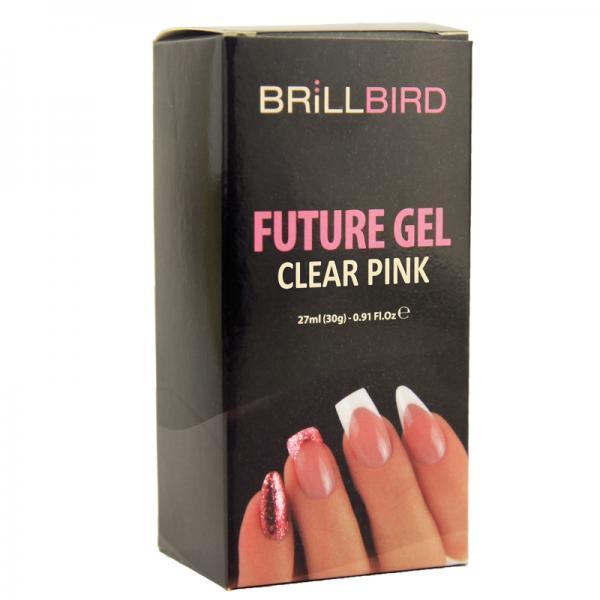 Future Gel Clear Pink /Polygel Akril Zselé/ 27ml