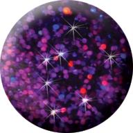 586 CN Színes Laser Brill porcelán 7g - Lila