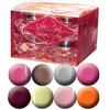 Favourite Color Gels II. - Legnépszerűbb Metál-Neon-Pasztell színes zselék - 8 x