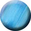 172 Selyem-metál zselé 5ml - Tengerkék