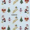 Karácsonyi matrica - akril 1