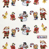 Karácsonyi matrica - akril 3
