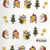 Karácsonyi matrica - akril 4