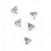 Strassz háromszög szivárvány 50/cs