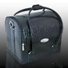 Crystal Fashion bőrkoffer - fekete kígyó