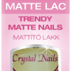 Matt Top Coat  - mattító színtelen fedőlakk 8ml