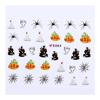Halloween köröm matrica - E064