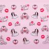 Valentin-napi matrica (TJ090) - ezüst