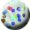 403 Effektus zselé 5ml - Hologram flitter