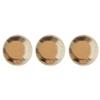 Crystal hajékszer strassz  - kristály 96 db
