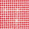 Csillogó öntapadós dekor fólia - piros - logós 6x10cm