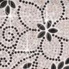 Csillogó öntapadós dekor fólia - virágos 6x10cm