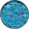 Virág, teli Dazzling - világos kék