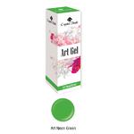 Neon Art gel- festőzselé 5ml Neon zöld